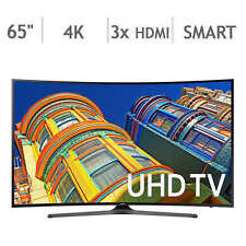 "Samsung 65"" Class (64.5"" Diag.) Curved 4K Ultra HD LED LCD TV UN65KU649DFXZA"