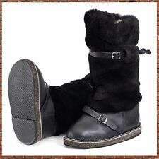 UGG /high fur boots / winter work boots russian boots /УНТЫ Hunter Boots