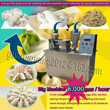 100mm size automatic dumpling samosa spring roll empanada Perogi maker machine