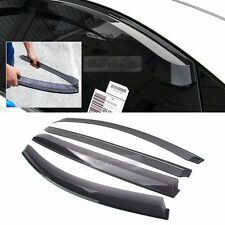 New Smoke Window Rain Guards Vent Visor Molding 4P for KIA 2011-2016 Sportage R
