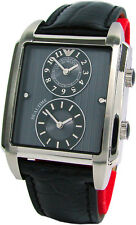 Emporio Armani dual time Edelstahl Uhr stainless steel men gents watch