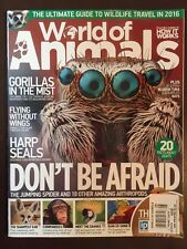 World Of Animals Gorillas In The Mist Jumping Spider Seal #28 2016 FREE SHIPPING
