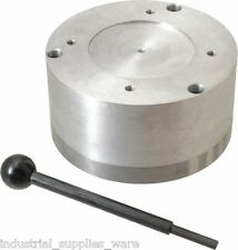 Suburban Tool Standard Pole Round Permanent Magnetic Rotary Chuck 5-1/2 In RMC5