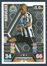 TOPPS MATCH ATTAX 2013-14- #206-NEWCASTLE UNITED-RENNES-SYLVAIN MARVEAUX