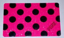 Victoria's Secret PINK Mirror Polk-a-dot VS Gift Card Collectible NO CASH VALUE