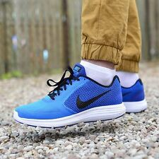 NIKE REVOLUTION 3 Running Trainers Shoes Gym Casual - UK 8.5 (EUR 43) Photo Blue