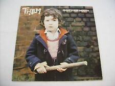 THEM - SHUT YOUR MOUTH - LP VINYL EXCELLENT CONDITION 1979