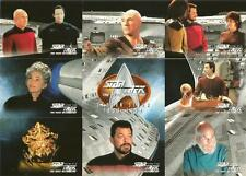 Star Trek TNG Season 7 Full 103 Card Trading Card Base Set from SkyBox
