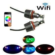Bmw H8 WIFI Control Led Marker Angel Eyes Halo Rings RGB Color-Change E92 E93 H8