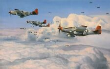 ROBERT TAYLOR Fighting Red Tails TUSKEGEE AIRMEN 332nd Fighter Group AMAZING!