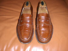 Men's FRATELLI ROSSETTI  Brown Leather Loafers 8.5 D