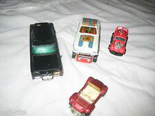 Original Corgi Junior Green Hornets Black Beauty Santapod Gloworm Vintage Cars