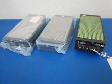 Lot of 3 Power Supply Units RO Associates Model 115 +/- 12 to +/- 15 VDC .75 AMP