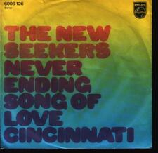 "7"" Single New Seekers Never Ending Song Of Love 70`s Philips"