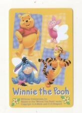 Playing Swap Cards 1 Japanese Angel Winnie The Pooh 1980's J166