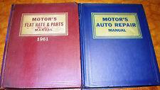 54-1961 Motors Manuals Repair Service & Parts Set Packard DeSoto Chevy Jeep AMC