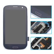 Full LCD Screen Touch Glass Digitizer Frame For Samsung Galaxy S3 Neo GT-I9300I