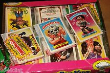 1986 GARBAGE PAIL KIDS 4TH SERIES (1) SEALED RACK PACK 24 STICKER CARDS MINT GPK