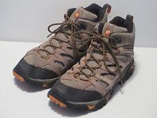 MERRELL Men's Moab Mid Hiking Boots US 12, $130 MSRP, Excellent Condition(9/10)