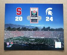 Michigan State University MSU 100th Rose Bowl 2014  vs Stanford 11 x14 Photo