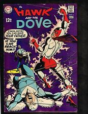 "Hawk and The Dove #6 ~ ""Judgment in a Small, Dark Place!"" ~ 1969 (4.0) WH"
