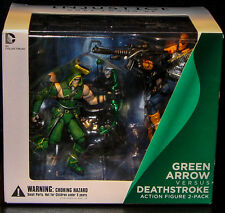 "DC Collectibles_GREEN ARROW vs DEATHSTROKE 3.75"" figures_Injustice Gods Among Us"