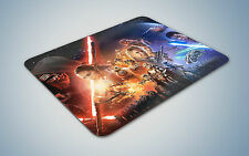 Star Wars the force awakens mouse mat gaming pc uk optical laser mouse pad