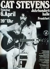 STEVENS, CAT - 1974 - Konzertplakat - Concert - Buddha and... - Tourposter - Fra