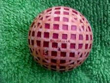 antique vintage golf ball-DURABLE # 3 Large Mesh marking c.1920's Used Painted