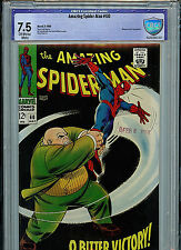 Amazing Spider-man #60 CBCS 7.5 VF- 1968 Silver Age Marvel Kingpin