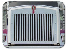 Kenworth T800 Replacement Grill with 17 Vertical Bars, 1995 & Newer