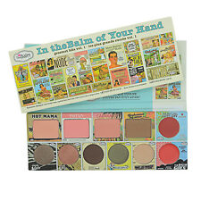 11 Colors The Balm Cosmetics In The Balm of Your Hand Eyeshadow Blushers Palette