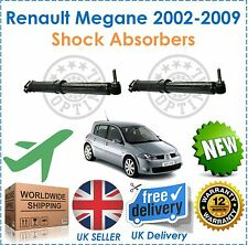 Fits Renault Megane MK2 Hatchback 2002 2009 Rear Shock Absorbers x2 NEW OEQ!