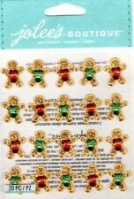 Jolee's GINGERBREAD REPEATS Stickers CHRISTMAS COOKIES HOLIDAYS