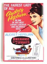 Breakfast at Tiffany's FRIDGE MAGNET (2 x 3 inches) movie poster pink style