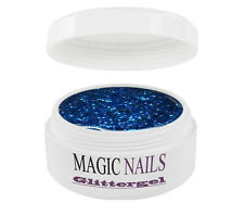UV Gel 15 ml Glittergel Glitter Sky-Blue 02