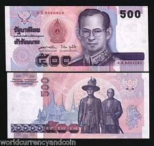 THAILAND 500 BAHT P103 1996 BUDDHA KING DANCER UNC CURRENCY MONEY BILL BANK NOTE