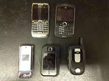 Lot of 5 Cell Phones Nokia HP Motorola Untested AS IS