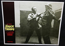 Shock Troops Lobby Card - Harry Saltzman - Nazis (C-8) 1968