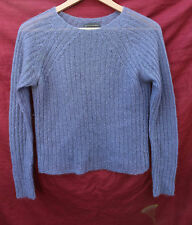 BANANA REPUBLIC Small purple MOHAIR blend SHEER pull-over sweater