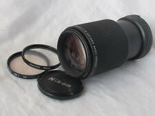 Nikon E series Ai-S 75-150mm f3.5 manual focus Lens can be used on Digital