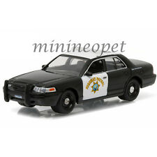 GREENLIGHT 42760C FORD CROWN VICTORIA POLICE INTERCEPTOR CHP HIGHWAY PATROL 1/64