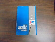 Jeppesen Sanderson Piper Instrument COmmercial Manual PB 1975
