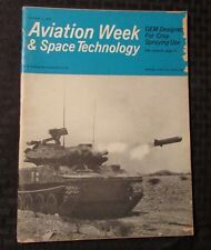 1966 Dec. AVIATION WEEK & SPACE TECHNOLOGY Magazine VG- Shillelagh Test Missle