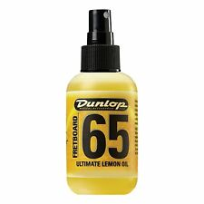 Dunlop Formula 65 Lemon Oil Guitar Fretboard Conditioner / Cleaner Spray Bottle