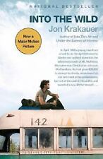 NEW UNREAD Into the Wild, Jon Krakauer, 2007 Movie Tie-In PB Ed, TPB, FINE+