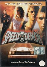 SPEED DEMON (2003) DVD - EX NOLEGGIO