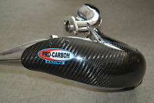 DEP Exhaust Expansion Pipe & Pro Carbon Guard YAMAHA DT125RE DT125 RE X 2004-ON