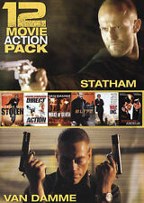 12 Film Action Pack, Very Good DVD, Nicolas Cage, Jason Statham, Dolph Lundgren,