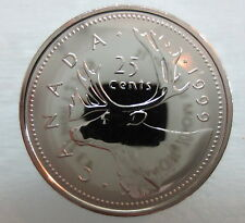 1999 CANADA 25 CENTS PROOF-LIKE COIN